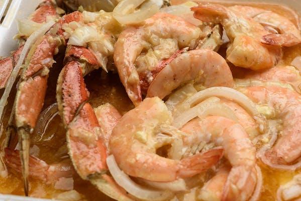 (10) Boiled Shrimp & (1) Snow Crab Platter