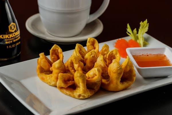 A4. Fried Wontons (Crab Rangoon)