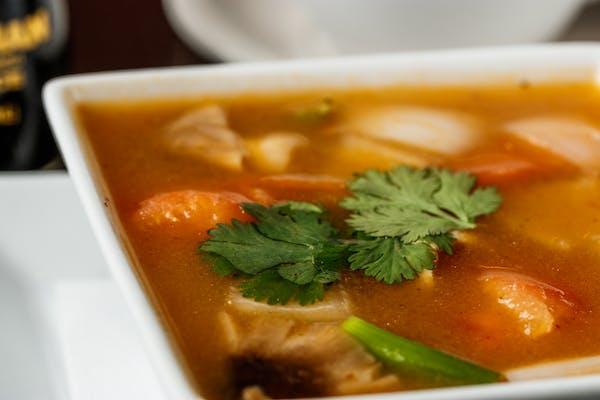 24. Spicy & Sour Shrimp Soup