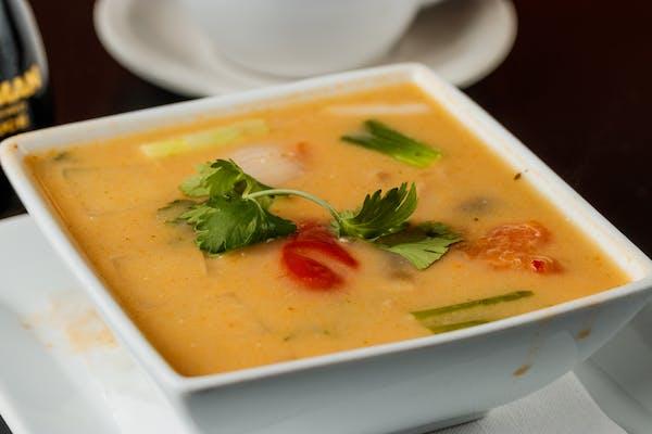 25. Coconut Soup (Tom Kha)