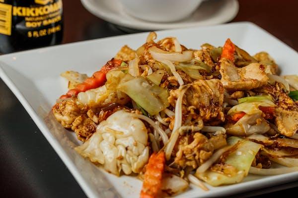 40. Stir-Fried Glass Noodles