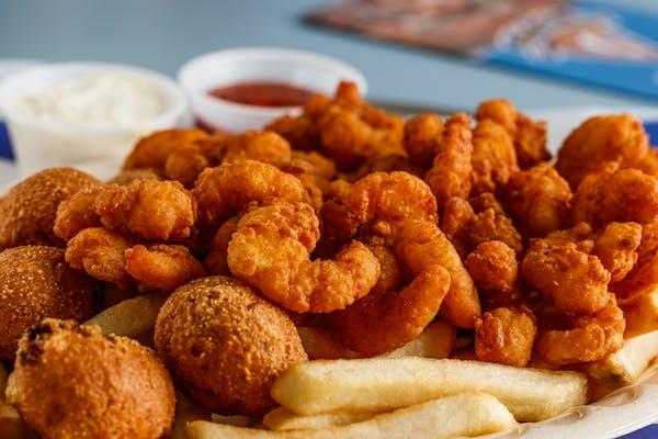 Popcorn Shrimp Plate