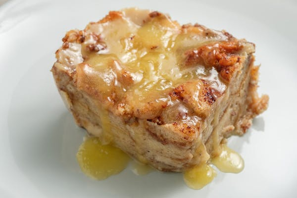 Slice of Gourmet Bread Pudding