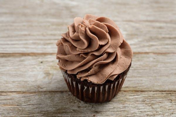 Gourmet Double Chocolate Cupcake