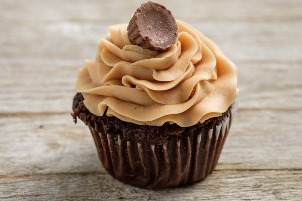 Gourmet Chocolate Peanut Butter Cupcake