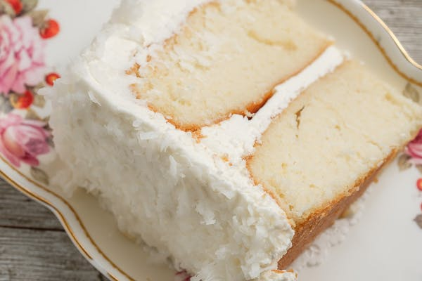 Standard  Coconut Cake Slice