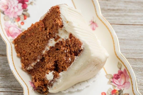 Gourmet Carrot Cake Slice