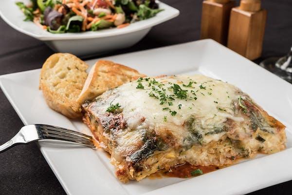 Veggie Lasagna Entrée