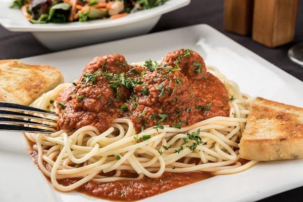 Spaghetti & Meatballs Entrée