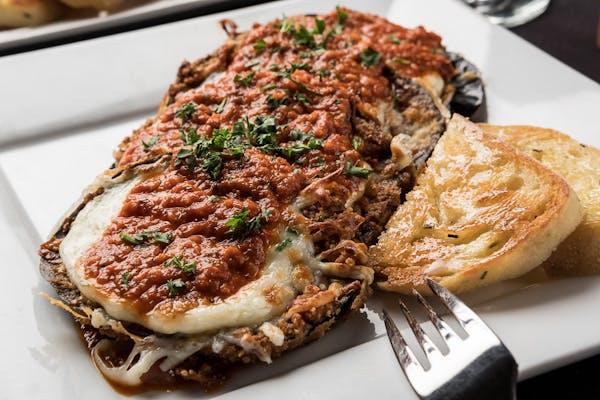 Eggplant Parmesan Entrée
