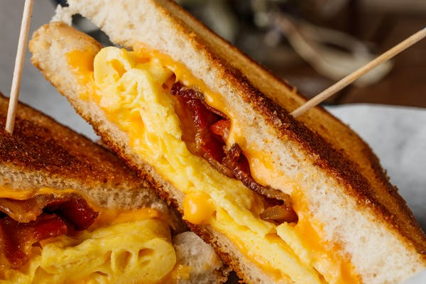 Breakfast Melt Sandwich