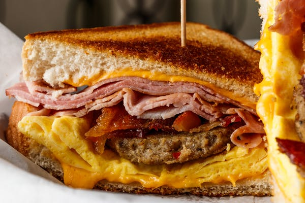 The Ultimate Breakfast Melt Sandwich