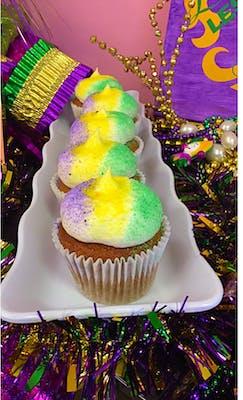 King Cake Cupcake