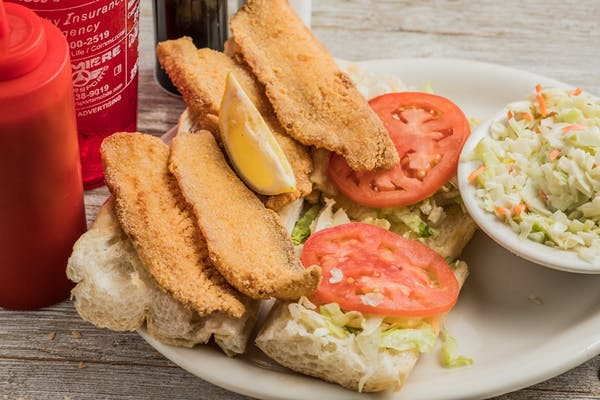 Fried Fillet of Fish Po-Boy