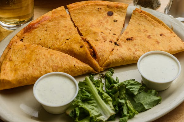 Buffalo Quesadilla