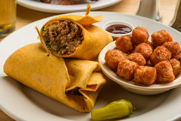 BBQ Wrap or Panini