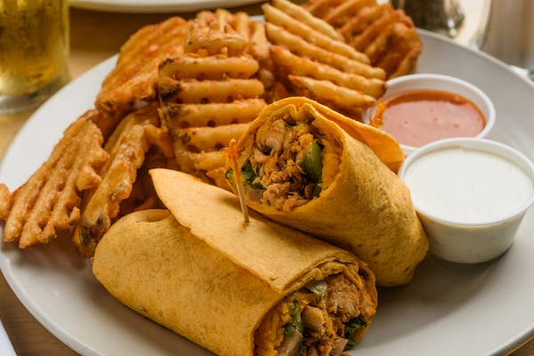 Buffalo Chicken Wrap or Panini