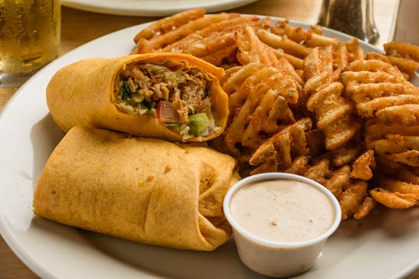 Chipotle Chicken Wrap or Panini