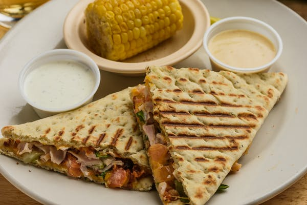 Turkey Club Wrap or Panini