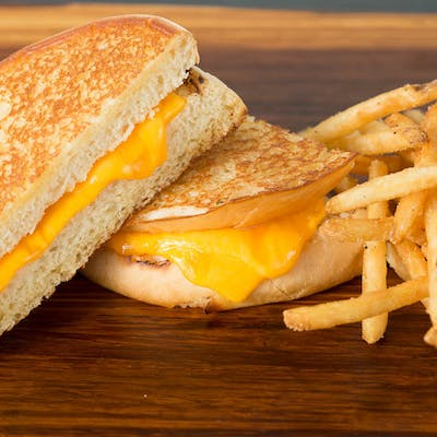 Kid's Grilled Cheese Sandwich Combo