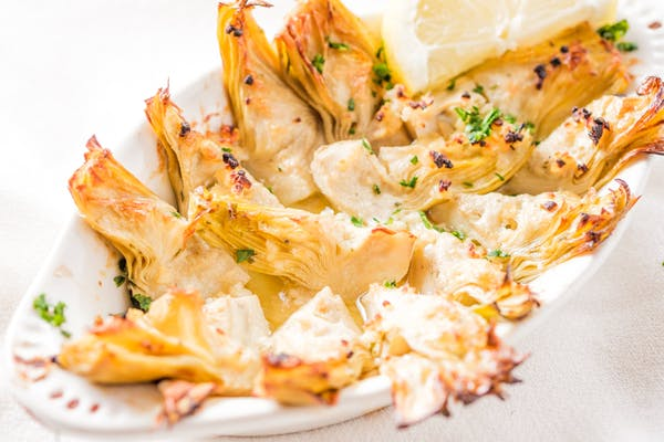 Roasted Artichoke Hearts