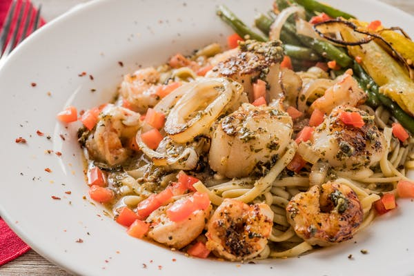 Shrimp & Scallop Genoese