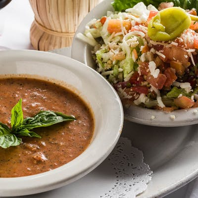 Soup or Salad & Sandwich