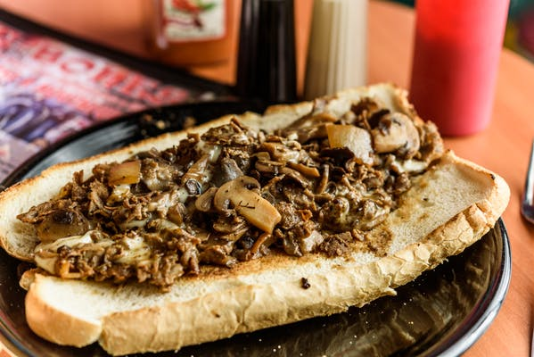 The Famous on 'Shrooms Cheesesteak