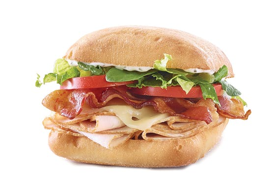 Turkey, Bacon & Ranch Sandwich