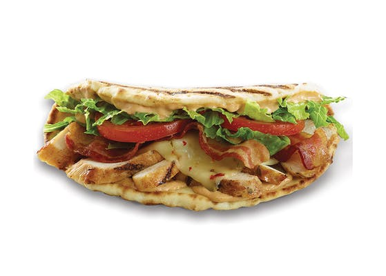 Chipotle Chicken Club Flatbread