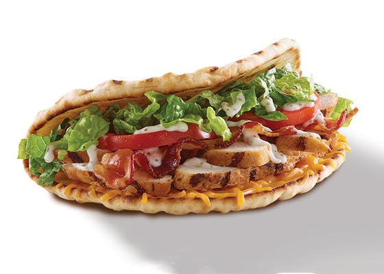 Chicken, Bacon Ranch Flatbread