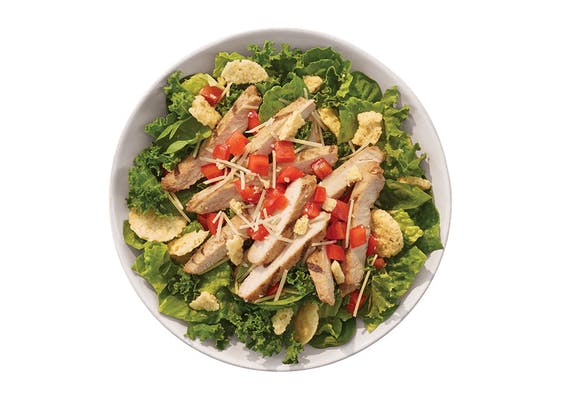 Supergreen Caesar Chicken Wrap or Bowl