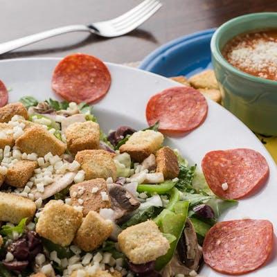 Soup & Half Salad Combo