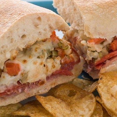Rotolo's Muffuletta Sandwich