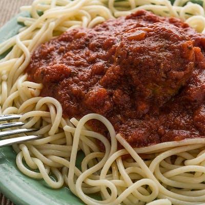 Kid's Spaghetti & (1) Meatball