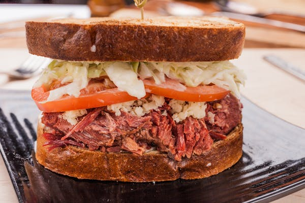The Roosevelt Reuben Sandwich