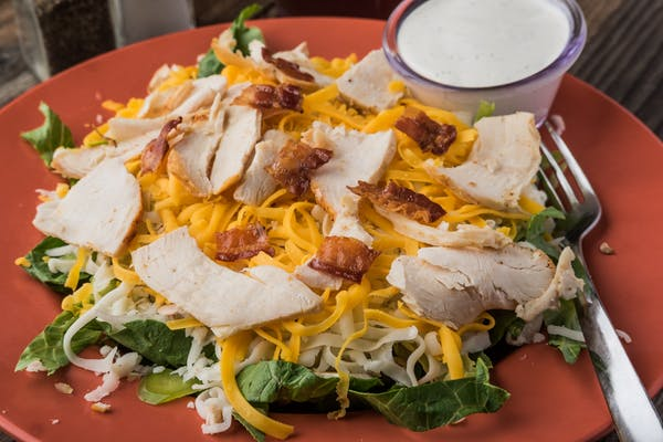 Double-Down Salad