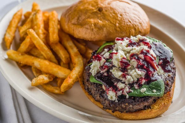 Cherry & Feta Burger