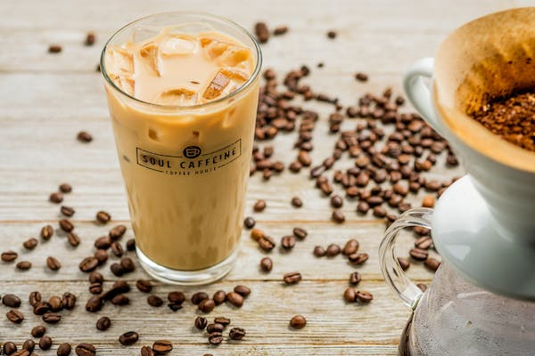 Iced Flavored Latte
