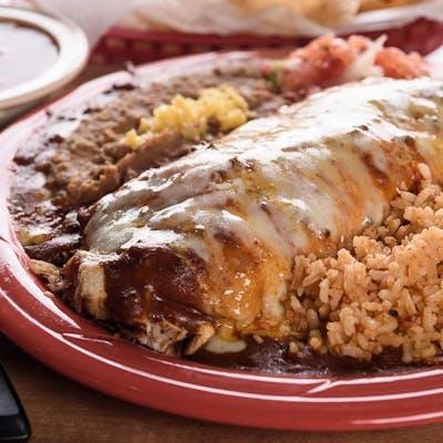 Casa Fajita Burrito Dinner