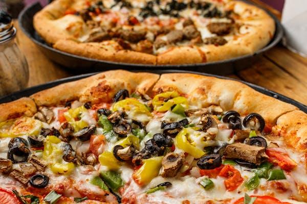 Classic Veggie Pizza