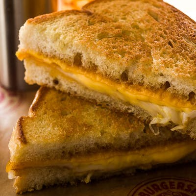 Four-Cheese Grilled Cheese Sandwich