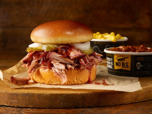 Just The Pork Sandwich