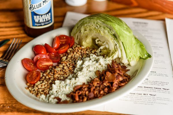 BLT Iceberg Wedge Salad