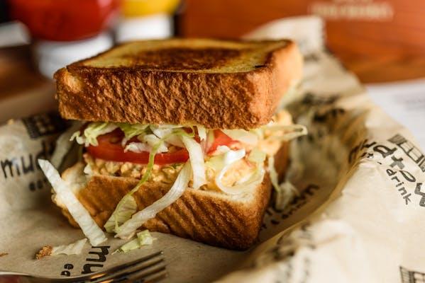 Aunt Claire's Jalapeño Pimento Cheese Sandwich