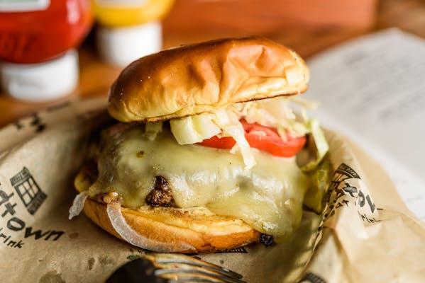 Spicy Bayou Burger
