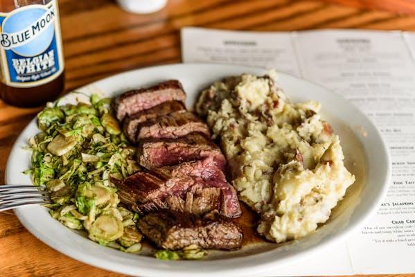 Asian Glazed Flank Steak