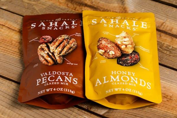 Sahale Snacks Glazed Honey Almonds & Cranberries