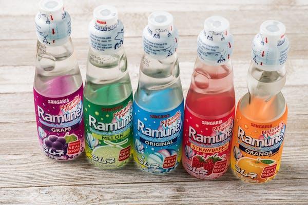 Ramune Soft Drink