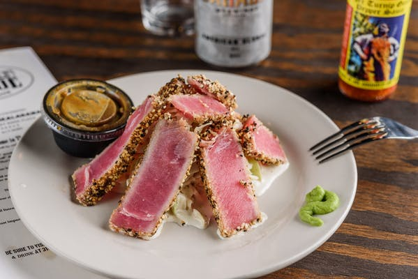 Grilled Tuna Tataki